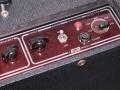 Vox AC 30/6 Bass, Red panel van aug 1964, basketweave, panel rechts.