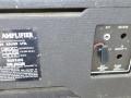 1970-1972 Vox Slave Driver Compact 50T, VSL, effectloop en externe speakerjacks en typeplaatje.