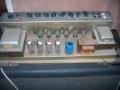 Vox AC30 TB Stolec model 1970, met verzonken preampchassis op grijze printplaat en Lemark trafo's. De EL84 poweramp eindtrap is hier niet verzonken. geen GZ34.