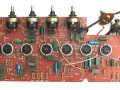 Vox AC30 TBR(everb) Stolec, PC board preamp sectie met 7e buis voor Reverb plus inputs module.