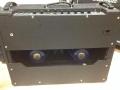 Back Vox AC30 TBR Stolec, UK logo, Blue speakers VSL label. Geen Voltage selector.