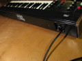 Vox JMI String Thing 1974, Synthesizer Piano fabrikaat Logan Italy, back.