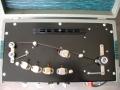 Vox Domino Echo - model MK2 low - Bandloop 52 cm - Bruin bakelieten Mariott koppen evenwijdig geplaatst.