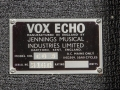 Vox Long Tom Echo MKII -CO3, typeplaatje.