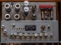 Vox Long Tom MKII-CO3, chassis met nikkelen BSR MNI 55 koppen. Hallo Rapid-Slow switch gemodificeerd met 4 losse koppen switchen.