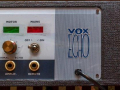 Vox Long Tom MKII-CO3, front met witte toetsen.