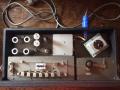 Vox Long Tom MKII-CO3 met nikkelen  Echolette-Dynacord koppen, tapeloop. Hallo Rapid-Slow switch vervangen door 4 losse koppen switchen.