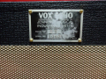 Vox SV Standard Echo Unit 1966, typeplaatje.