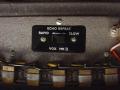 Detail Brass metalen  Marriott koppen Long Tom CO3. Zicht op Hallo koppenswitch Slow (kop 2 en 4) en Rapid (kop 1 t/m 4)