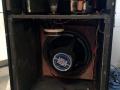 Vox Gyrotone MK3 Rotary cabinet, open back polystyrene rotor open, 3x12 inch 25 watt speakers.