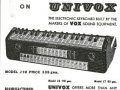 Jennings Univox Organ J10, advert Telstar.