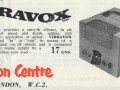 Vibravox nieuw model, advertertentie JMI februari- maart 1958 .