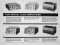 Folder Vox Metal Clad PA systems.