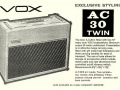 Vox folder 1961-05