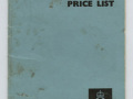 Vox retail price list april 1967.
