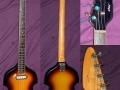 V232 Violin Bass massief model.