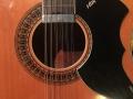 V240 Vox Folk Twelve Electric 12 string 1966, body.