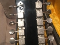 V240 Vox Folk Twelve Electric 12 string 1966, headstock back, made in Italy.