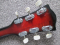 V213 Lynx 2 pickups 1964-1965 made by Crucianelli Italy, headstock back.