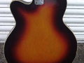 Vox 3 pickups 1963, fabrikaat Welson Italy, body back.