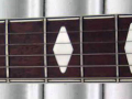 Vox 3 pickups 1963, fabrikaat Welson Italy, inlays toets.
