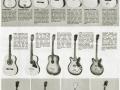Crucianelli catalogus, voor een groot deel Vox gitaren.