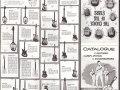 Vox folder electrische solid gitaar modellen uit 1962.