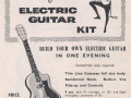 Advertentie november 1960 voor de Vox Pacific Electric Guitar Kit.