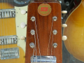 Hawaiin Steel Guitar 1964,  mahogany body , 6 snaren, 1 Vox pickup , controls, headstock met JMI badge.