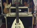 Phantom Mark III Teardrop 1962, 3 pickups, UK model, front.