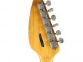 Phantom Mark III Teardrop 1964 White (UK model Brian Jones Rolling Stones), headstock back met ingeslagen serienummer en England label op USA exportgitaren.