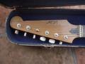 Vox LG40 Shadow Guitar 1959 gebouwd door Guyatone, headstock Jennings Industries.