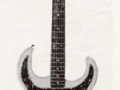 Scorpion IX 1964, 3 pickups, front.  Experimentele handgebouwde Vox gitaar waarvan weinig geproduceerd.
