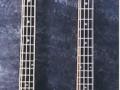 Vox Winchester Bass 1967, 2 pickups Phantom neck,  headstock kleur verschillend.