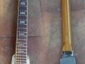 Winchester gitaar 1967 met 1 pickup op basis WahWah pedal, ook uitgevoerd vanuit de Rotary Action pedalen Repeater en Bushwhacker. In de diverse varianten in totaal ca. 16 stuks geproduceerd.B