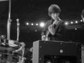 Beatles in de film A Hard Day's Night met Vox MK1 Washington DC cabinet met 2x12 inch Celestion speakers en Goodmans horn. Slechts enkele van gemaakt.