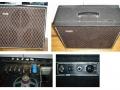 Overzicht Vox Mystery Amp Tube 1964, soms AC20 genoemd, waarin opgenomen een AC10 Super Reverb Unit, vertoond gelijkenis met LW30 SS.