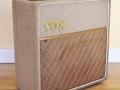 Vox AC4 Fawn1962 met houten footswitch.