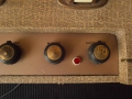 Vox AC4 JMI eind 1962, Champagne controlpanel, volume, speed, on-of-tone controls.