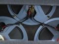 Vox Mystery Amp 1964 met serie van 3 Goodmans 768 speakers van 10 inch.