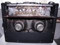 Open achterzijde Vox AC30 TB oktober 1965, Grey Panel, Silver Alnico Celestions T1088 MK1, soldering op het huis.