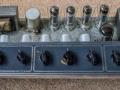 Vox AC30-6 T 1965, grey panel achterkant.