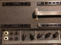 Vox AC30-6TB Super Reverb Twin Slant Top late 1965, Grey panel links en 6 inputs.