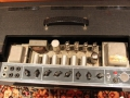 Vox AC30 Twin 1964 Grey panel met Top Boost buizencircuit, nog met GZ34 gelijkrichter.