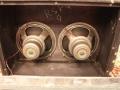 Vox AC30 Twin Cabinet 1964, open back met 2x 12 inch Celestions T.1088. MK1 met 3 bolts en solderingen op het huis.