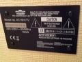 VOX AC15h1TV typeplaatje.