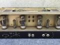 1966- Vox 4120 Hybride bas 120 head 120 watt, buizensectie eindtrap poweramp 4xKT88, 1xEL84 en 1xECL86.