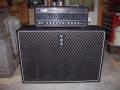 1966- Vox 4120 Hybride bas 120 watt head en 460 closed cabinet, front