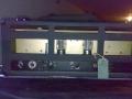 1966- Vox 460 hybride bas head solid state preamp, diode gelijkrichter, eindtrap 60 watt RMS 1xECC83 en 2xKT88, back.