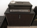 1966- Vox 460 hybride bas top, cabinet, 3 button footswitch.